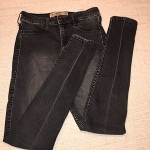 Hollister 3R high rise super skinny jeans